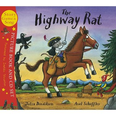 Donaldson and Scheffler: The Highway Rat (Paperback and CD)
