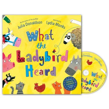 Julia Donaldson: What the Ladybird Heard (Paperback and CD)
