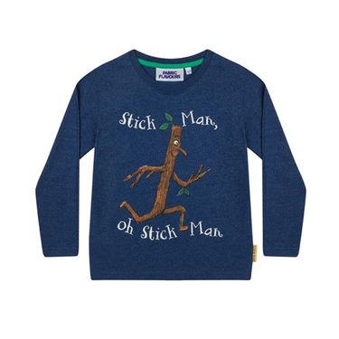 Stick Man: Stick Man Long Sleeve Childrens T-Shirt