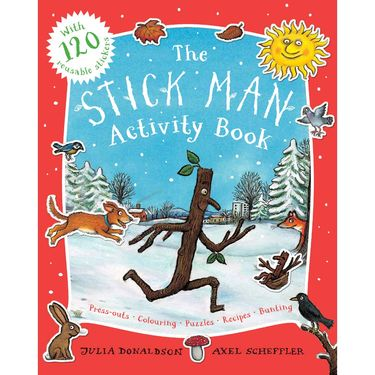 Stick Man: The Stick Man Activity Book (Paperback)