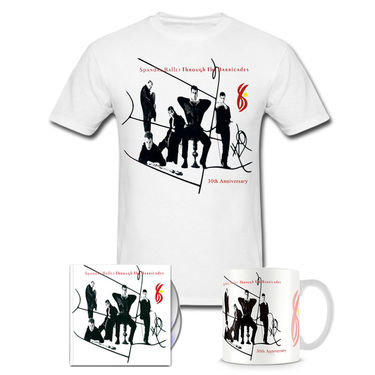 Spandau Ballet: Through The Barricades CD & DVD, T-Shirt & Mug Anniversary Bundle