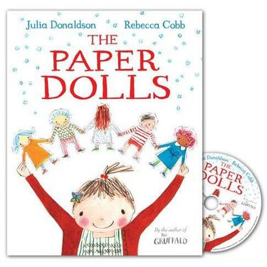 Julia Donaldson: The Paper Dolls (Paperback and CD)
