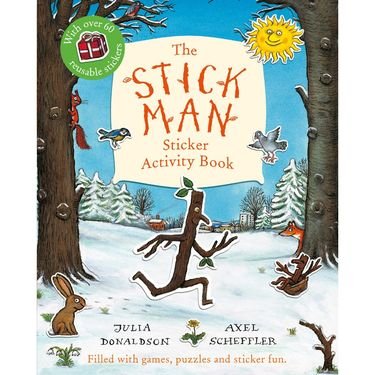 Donaldson and Scheffler: The Stick Man Sticker Activity Book (Paperback)