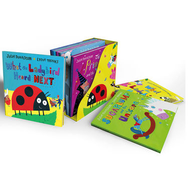 Julia Donaldson: What the Ladybird Heard and Other Stories Bedtime Bookcase