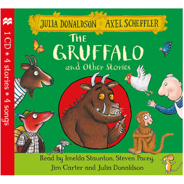 Julia Donaldson: The Gruffalo and Other Stories CD
