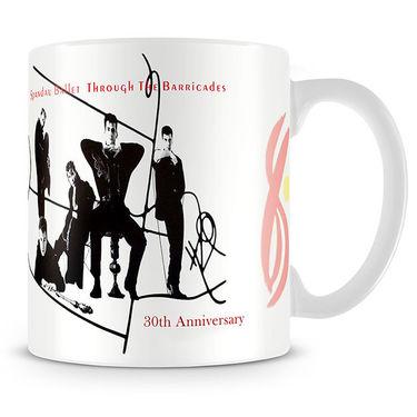Spandau Ballet: Through The Barricades Anniversary Mug