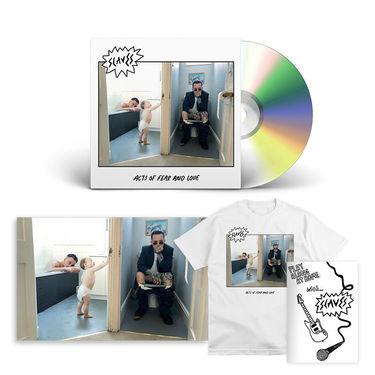 Slaves: CD, TEE, ALBUM PRINT & ZINE BUNDLE