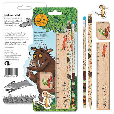 The Gruffalo: Gruffalo Wooden Stationery Set