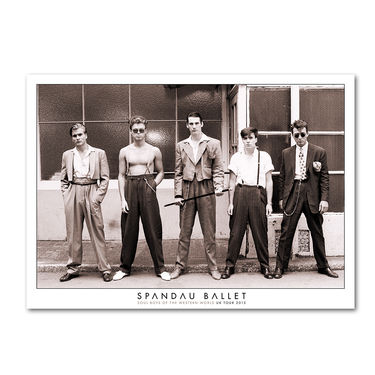Spandau Ballet: Soul Boys Of The Western World 2015 Lithograph