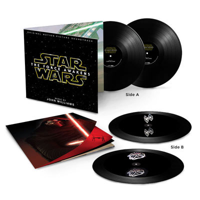 John Williams: Star Wars: The Force Awakens Two LP Hologram Vinyl