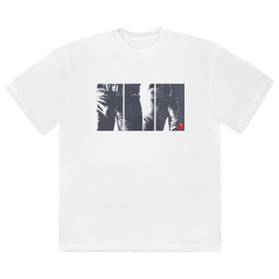 The Rolling Stones: Sticky Fingers Tracklist White T-Shirt