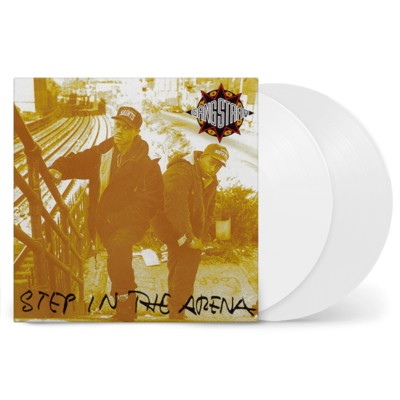 Gang Starr: Step In The Arena: Exclusive Opaque White Coloured Vinyl