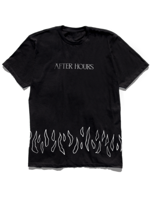 The Weeknd: NEVER COMING DOWN TEE