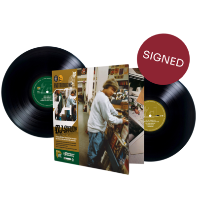 DJ Shadow: Endtroducing – 25 (Abbey Road Half Speed Master) *SIGNED*