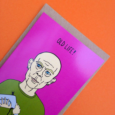 Erasure: Vince Clarke Erasure Greetings Card