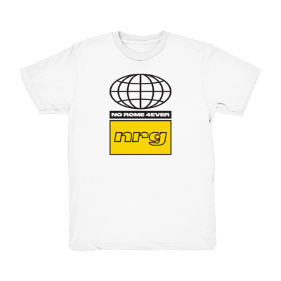 No Rome: NRG Tour Tee - White