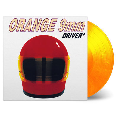 Orange 9mm: Driver Not Included: Limited Edition Flame Coloured Vinyl