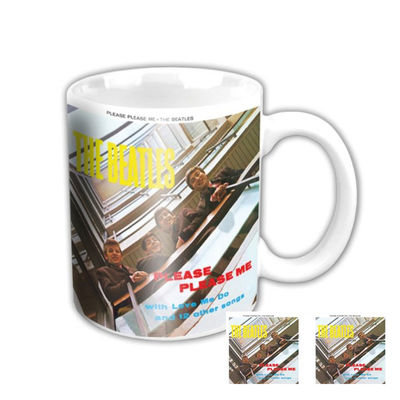The Beatles: Please Please Me Album Boxed Mug