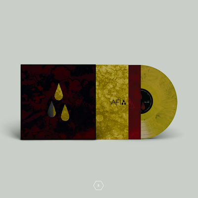AFI: AFI (THE BLOOD ALBUM) COLLECTABLE EDITION VINYL CONFIGURATION B / GOLD VINYL