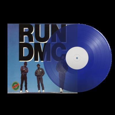 RUN DMC: TOUGHER THAN LEATHER (TRANSLUCENT BLUE VINYL)