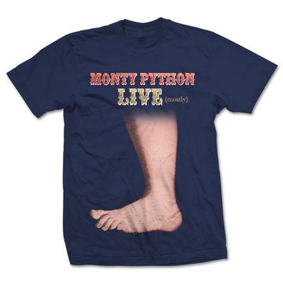 Monty Python: Big Foot Navy T-Shirt