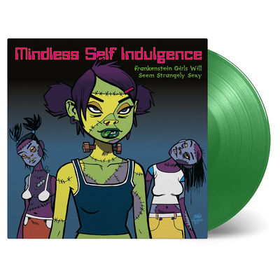 Mindless Self Indulgence: Frankenstein Girls Will Seem Strangely Sexy: Green Vinyl LP