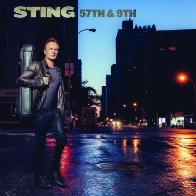 Sting: 57th & 9th Blue LP