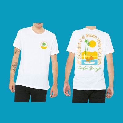 Jeff Goldblum And The Mildred Snitzer Orchestra: Palm Springs Daytime T-shirt