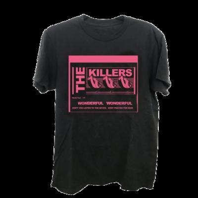 The Killers: Wonderful Wonderful Lyrics T-Shirt