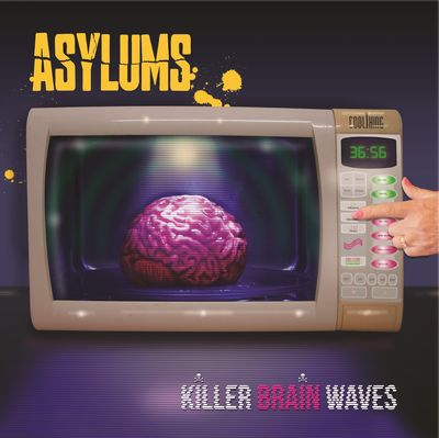 Asylums: Killer Brain Waves: Signed + Bonus EP CD