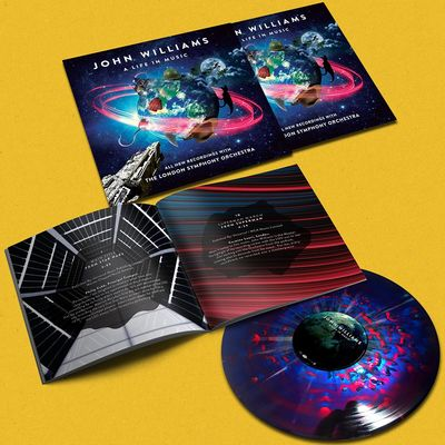 John Williams: A Life In Music: Galactic Splattered Vinyl