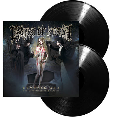 Cradle Of Filth: Cryptoriana – The Seductiveness Of Decay: Ltd Edition Gatefold Vinyl + Signed Insert