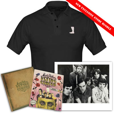 Monty Python: Monty Python Black Polo Fan Bundle