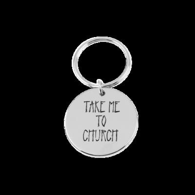 hozier: Take Me To Church Keychain