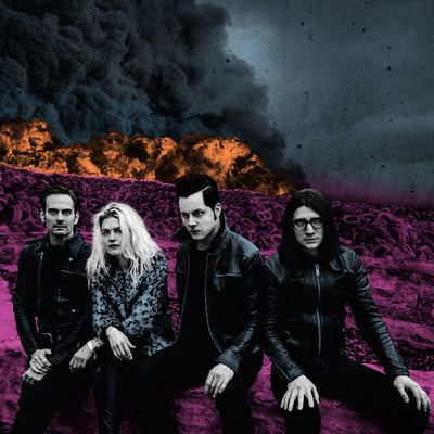 The Dead Weather: Dodge and Burn + Lithograph Print