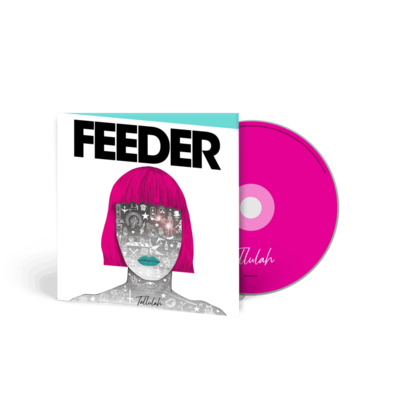 Feeder: Tallulah: Hardcover Book Deluxe CD
