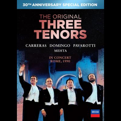 The Three Tenors: The Original Three Tenors In Concert, Rome, 1990 [30th Anniversary Edition]