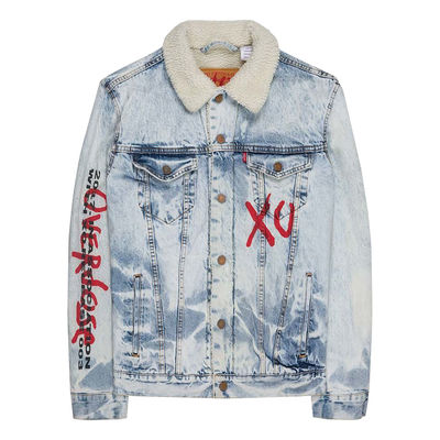 The Weeknd: Reverie Denim Sherpa Jacket