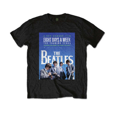 The Beatles: 8 Days A Week Movie Poster Men's Black T-Shirt