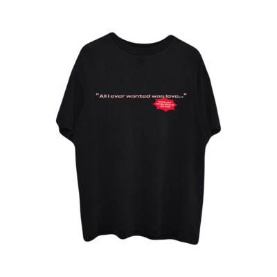 Lady Gaga: ALL I EVER WANTED T-SHIRT