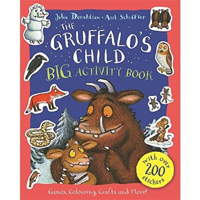 Donaldson and Scheffler: The Gruffalo's Child BIG Activity Book (Paperback)