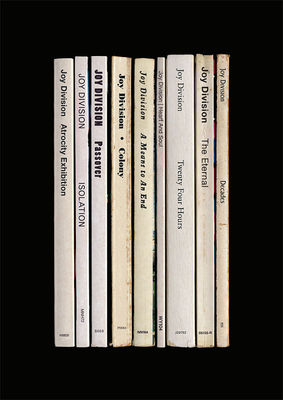 Joy Division: 'Closer' Album As Books Art Print