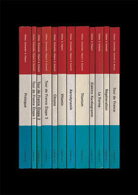 Kraftwerk: 'Tour de France Soundtracks' Album As Books Art Print