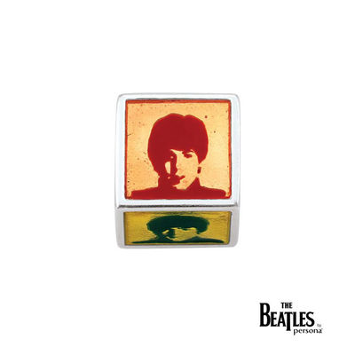 The Beatles: 925 The Beatles Cube Bead