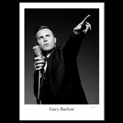 Gary Barlow: Signed Litho