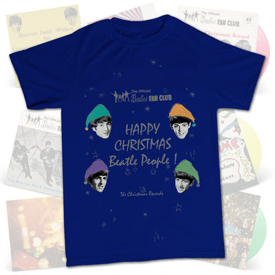 The Beatles: Happy Christmas Beatles People T-Shirt