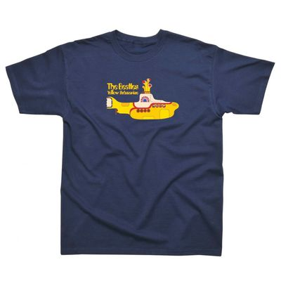 The Beatles: Yellow Submarine Children's T-Shirt Navy