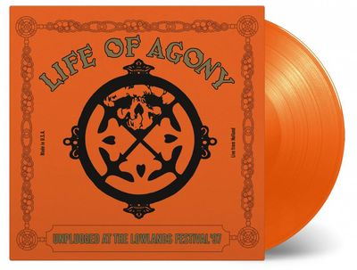 Life Of Agony: UNPLUGGED AT LOWLANDS 97: Orange Vinyl