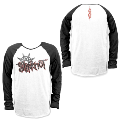 Slipknot: Flag Baseball Raglan T-Shirt