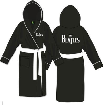 The Beatles: Unisex Bathrobe Drop T Logo